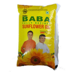 BABA-SUNFLOWER-OIL-500-ML-greatdeals99 - Biratnagar