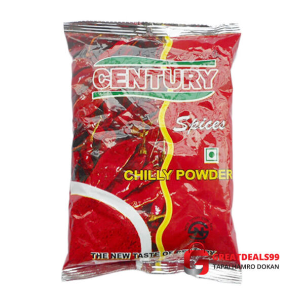CENTURY CHILLY POWDER 100 GMCENTURY BESHAR POWDER 50 GM - Greatdeals99 - Online shopping Biratnagar