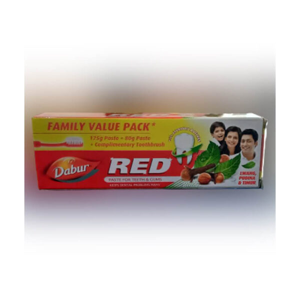 DABUR RED TOOTHPASTE 225 GM-greatdeals99-Biratnagar