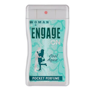 ENGAGE WOMEN POCKET PERFUME 18 ML COOL AQUA-greatdeals99-Biratnagar
