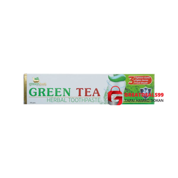 Green Tea Herbal Toothpaste