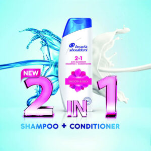 H & S SHAMPOO 2 IN 1 340 ML SMOOTH & SILKY-greatdeals99-Biratnagar