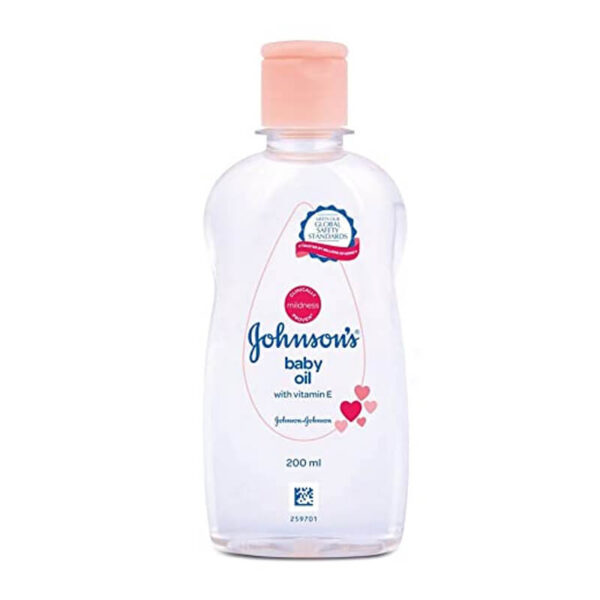 JOHNSON & JOHNSON BABY OIL 200 GM-greatdeals99-biratnagar