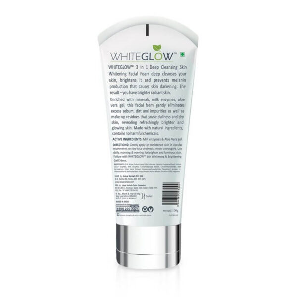 LOTUS HERBAL WHITE GLOW FACEWASH 100GM-greatdeals99-Biratnagar