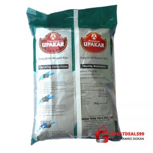 Upakar long grain basmati rice 5KG - Online shopping Biratnagar