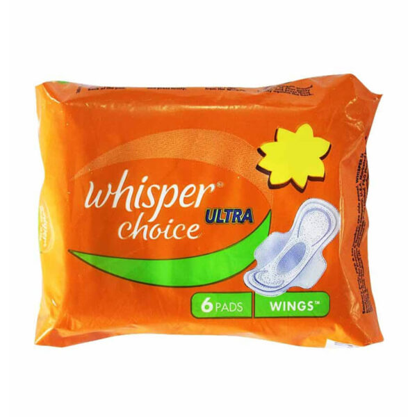 WHISPER ULTRA CHOICE 6 PC-greatdeala99-Biratnagar