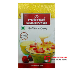 POSTER CUSTARD POWDER 100 GM - Greatdeals99 - Online shopping Biratnagar