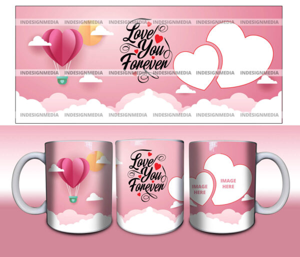 Love you forever - cup print