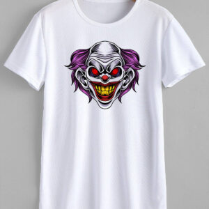 Clown T-Shirt Design and Print Indesign Media