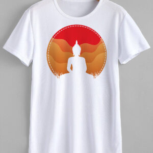Buddha T-Shirt Design and Print