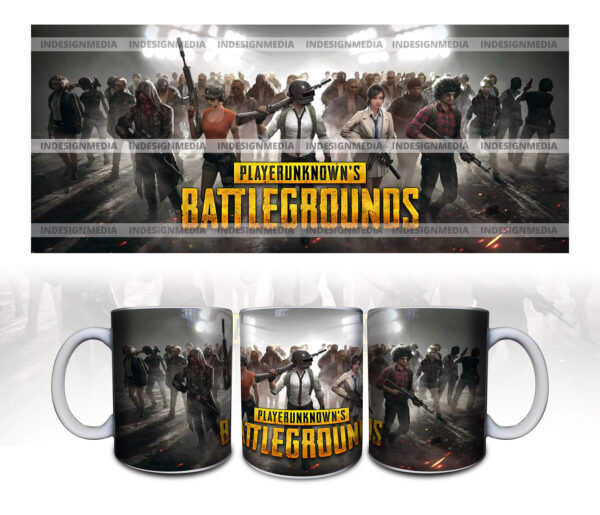 pubg cup print for game lover.