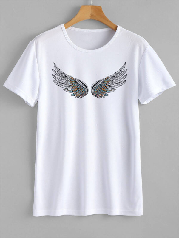 wings t-shirt indesign media