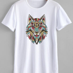 Wolf T-Shirt Print - Buy wolf design t-shirt at Greardeals99
