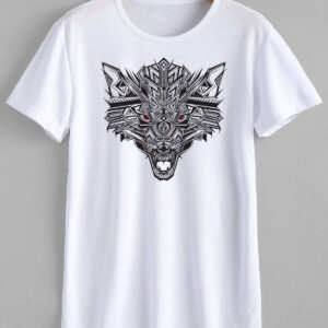 Wolf T-Shirt Design - Buy best customized t-shirt in Brt