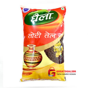Ghaila Mustard Oil 1 L - Buy Online at the best price