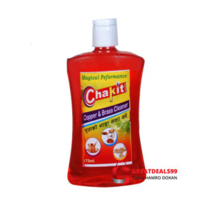 CHAKIT COPPER & BRASS CLEANER (PITAMBARI) GEL 175 ML